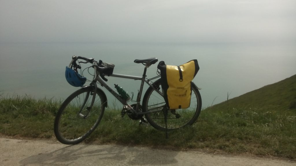 Bike near Beachy Head