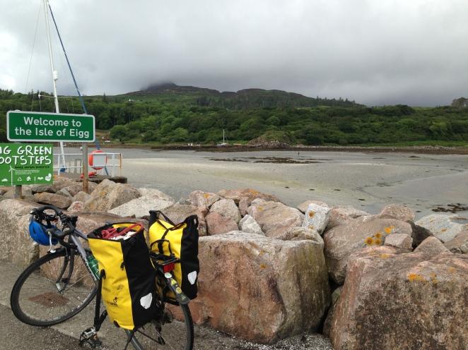 bike makes it to Eigg