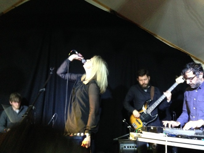 Jane Weaver and band