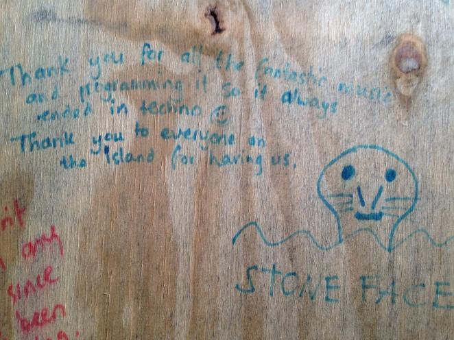 techno graffiti