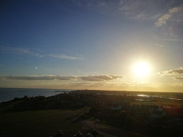 Sunshine near Walton on the Naze
