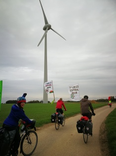 Cycling for clean air and clean energy, past clean energy
