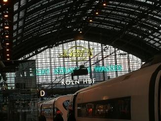 Train station, Cologne